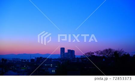 田園調布から川崎方面の夕景(美麗) 72853373