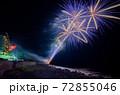 伊豆稲取の花火演舞 72855046