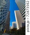 (東京の空)(首都の空)高層ビル街 72873562