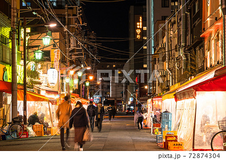 《東京都》浅草飲み屋街・ホッピー通り 72874304