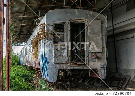 タイ国内を入っていた日本製中古車両 72890704