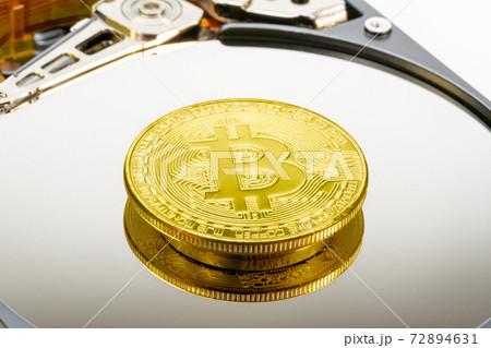 ハードディスク(HDD)とビットコイン 72894631