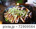 鉄板料理 ゲソ 豆腐 素朴 田舎 シンプル 美味しい 懐かしい 料理 72909564