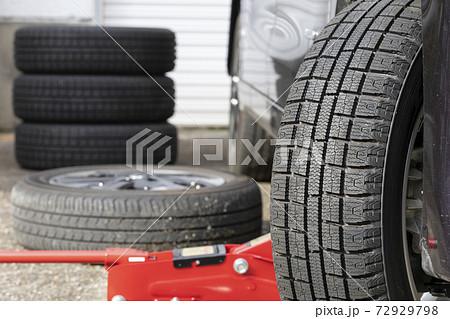 タイヤ交換 72929798