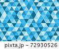 三角形寒色ブロックパターン 72930526