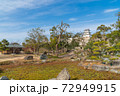 武蔵の庭園から見た巽櫓(明石城跡) 72949915