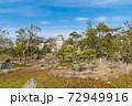 武蔵の庭園から見た巽櫓(明石城跡) 72949916