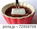 チョコレートフォンデュ マシュマロ 72956708