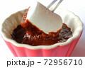 チョコレートフォンデュ マシュマロ 72956710