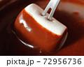 チョコレートフォンデュ マシュマロ 72956736
