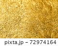 写真素材 金箔 金 金色 黄金 ゴールド 背景素材 72974164