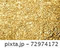写真素材 金箔 金 金色 黄金 ゴールド 背景素材 72974172