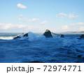 二見興玉神社の夫婦岩(三重:伊勢) 72974771