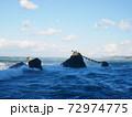 二見興玉神社の夫婦岩(三重:伊勢) 72974775