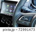 自動車のステアリングオーディオスイッチ 72991473