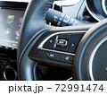 自動車のステアリングオーディオスイッチ 72991474