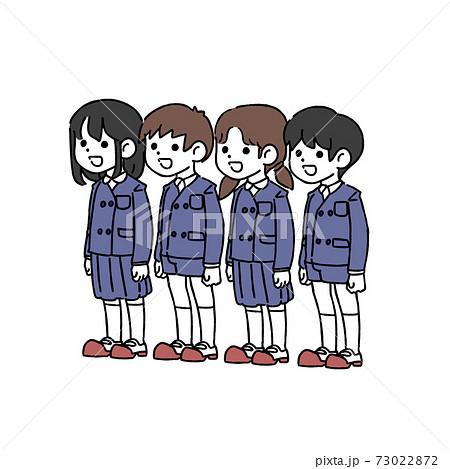 子ども 小学生 卒業式 練習 73022872