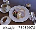 パンケーキとコーヒー 73039978