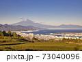 日本平から見た富士山 冬 73040096