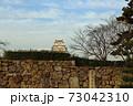 秋の夕暮れ姫路城 73042310