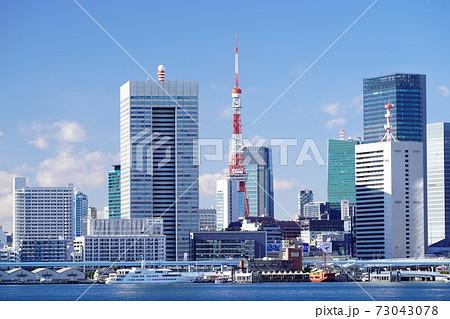 東京ベイエリア 東京湾の海岸の風景 73043078