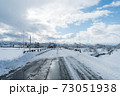 雪国の田舎道② 73051938