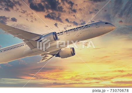 【城南島上空を離陸したJAL機 背景合成】 73070678