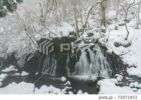 冬の元滝伏流水 73071972