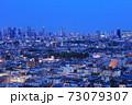【東京都】新宿副都心の夜景 73079307