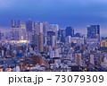 【東京都】新宿副都心の夜景 73079309