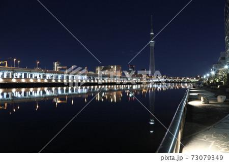 2021.01.01 0時、隅田川テラスからの撮影 73079349