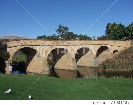 オーストラリア タスマニアのリッチモンド橋 73081587
