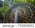 山口県美川町の大水車(2020年8月撮影) 73093832