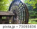 山口県美川町の大水車(2020年8月撮影) 73093836