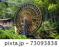 山口県美川町の大水車(2020年8月撮影) 73093838