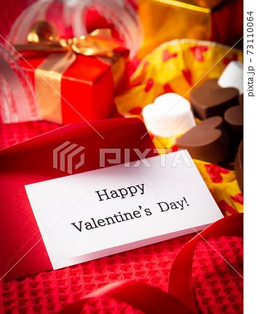 Happy Valentine's Day! バレンタインデー メッセージカード プレゼント チョコ 73110064
