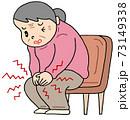 膝痛・変形性ひざ関節症 73149338