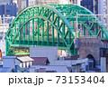 東京都千代田区御茶ノ水から見た都市景観 73153404