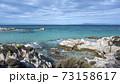 Aegean sea coast in Greece 73158617