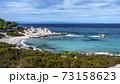 Aegean sea coast in Greece 73158623