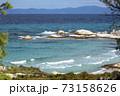 Aegean sea coast in Greece 73158626