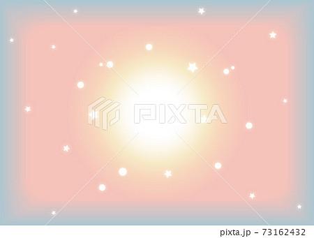 星を散りばめたファンシーな背景 73162432