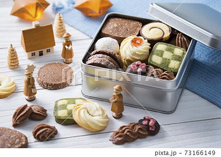 クッキー缶 集合イメージ 73166149