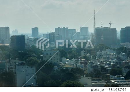 タワーから見たホーチミンの市街地風景 73168745
