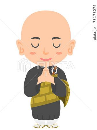お坊さん 僧侶 73178072