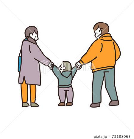 家族 ファミリー 散歩 73188063