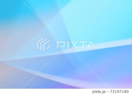 青色・紫色系抽象的背景 ライン・図形風 73197180