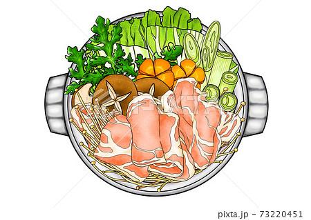 豚鍋1 豚肉ローススライス(生)②(主線あり)組合せシリーズもあります 73220451