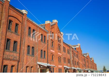 【神奈川県】横浜赤レンガ倉庫の風景 73228643