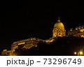 ハンガリー ブダペスト 夜のブダ城 73296749
